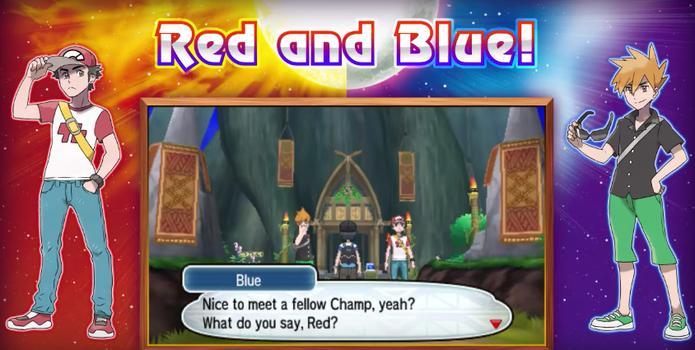 Red e Blue retornam como personagens do computador em Pokémon Sun e Moon (Foto: Reprodução/Felipe Vinha)