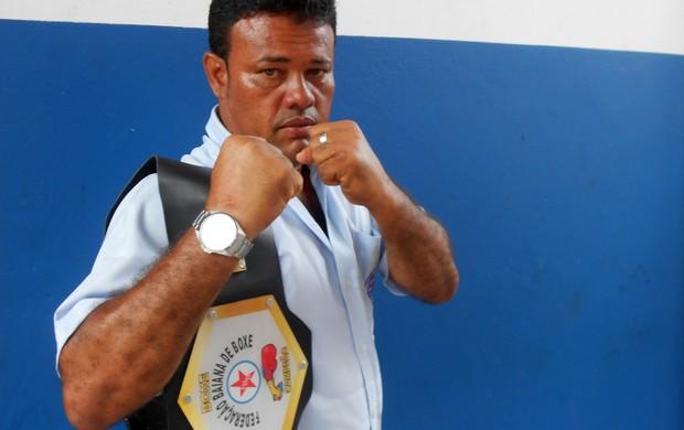 Edson Brito, o Louro, porteiro do Bahia e campeão baiano de boxe (Foto: Raphael Carneiro)