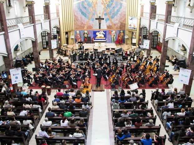 Orquestra se apresentará na terça-feira (4) (Foto: Fabrício Rezende/Divulgação OSBM)