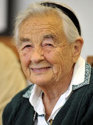 Maria von Trapp em foto de 25 de julho de 2008 (Foto: AP Photo/Kerstin Joensson)
