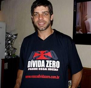 Juninho pernambucano vasco camisa dívida zero (Foto: Divulgação)