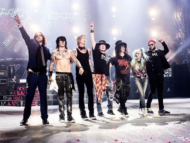 Guns N' Roses se apresentam em Curitiba  (Foto: Divulgação)