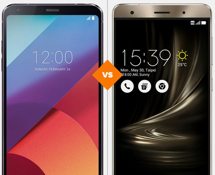LG G6 e Zenfone 3 Deluxe: veja o comparativo de ficha técnica (Foto: Arte/TechTudo)