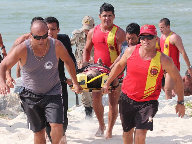 pescador morre após barco virar em saquarema (Foto: Nilton Gibao/Arquivo pessoal)