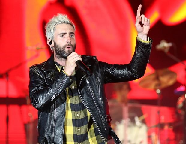 Adam Levine, do Maroon 5 (Foto: getty images)