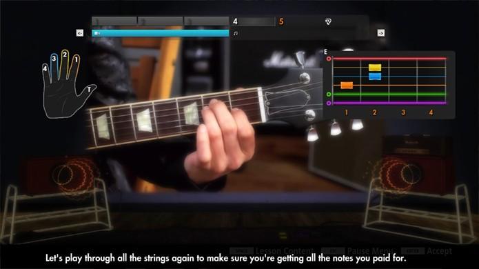 Rocksmith 2014 ensina a tocar guitarra e baixo de verdade (Foto: Gamer Living)