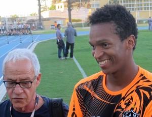 Jô treino Atlético-MG (Foto: Thiago Benevenutte)