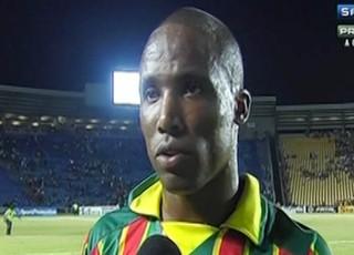 William Paulista - do Sampaio - em jogo contra Vasco no Castelão (Foto: Reprodução/Premiere FC)