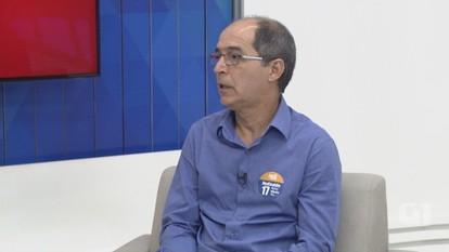 G1 entrevista candidato à reitoria da Ufam Hedinaldo Lima