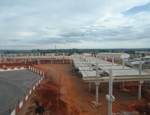 obras aeroporto de Brasília (Foto: Divulgação / Inframerica)