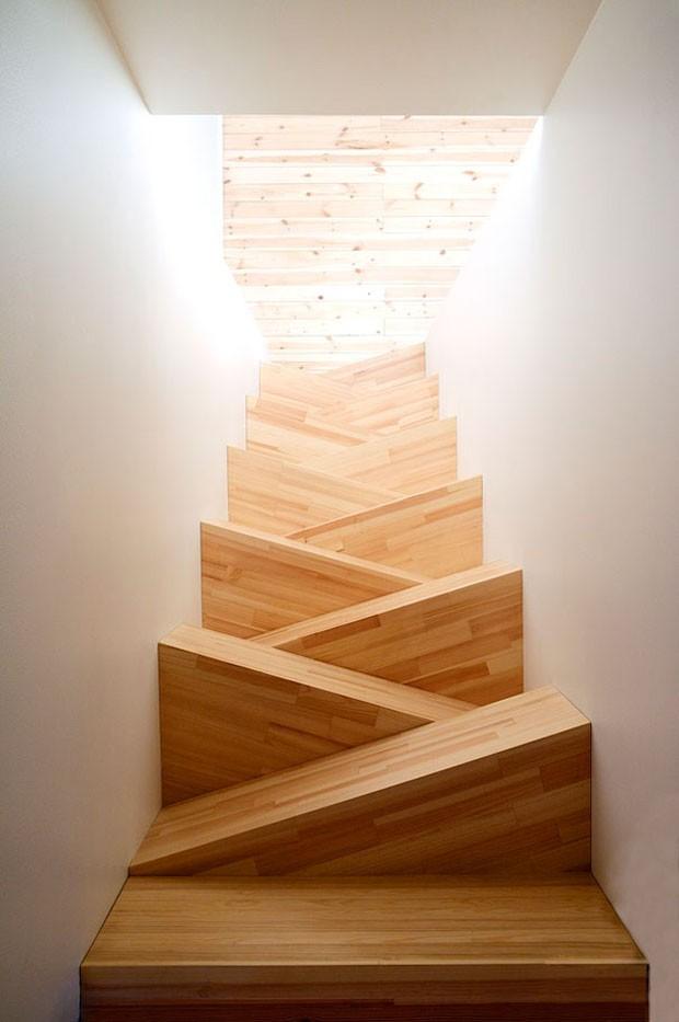 Ideias de escadas (Foto: TAF Arkitektkontor / Divulgação)