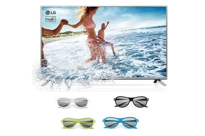 Usuário pode optar por Smart TV com tecnologia 3D (Foto: Divulgação/LG)