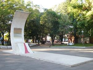 Mausoléo Getúlio Vargas, em São Borja (Foto: Divulgação/Prefeitura de São Borja)