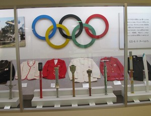 Relíquias museu Tóquio (Foto: Cahê Mota / Globoesporte.com)