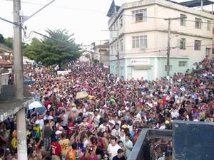 Carnaval Guarani, MG (Foto: Cloves Ribeiro Júnior/Arquivo Pessoal)