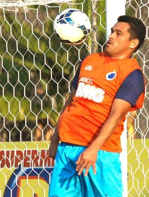 Samudio Cruzeiro (Foto: Washington Alves / Light Press)