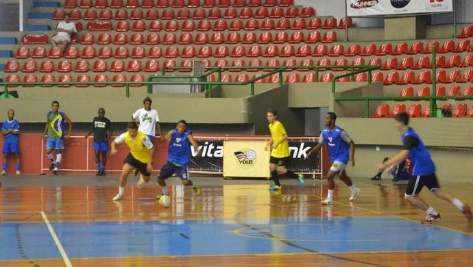 Peneira São Paulo/Mogi Futsal (Foto: Thayana Alvarenga)