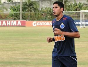 Willian Magrão, volante do Cruzeiro (Foto: Leonardo Simonini / Globoesporte.com)