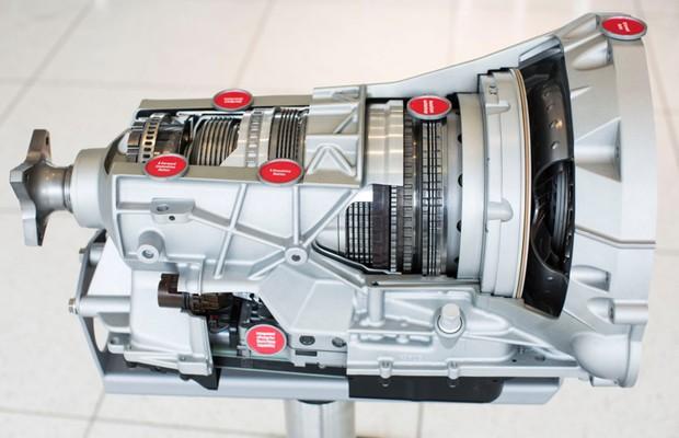 Nova transmissão automática de 10 velocidades da Ford (Foto: Divulgação)