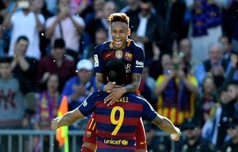 Fora da Copa América, Neymar não se frustra e comemora título do espanhol