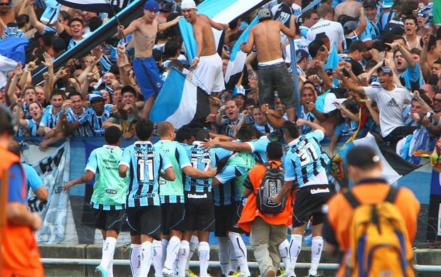 jogadores gol Grêmio (Foto: Flickr do Grêmio)