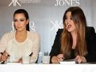 'Eu vou ter outro bebê', diz Kim Kardashian em programa de TV