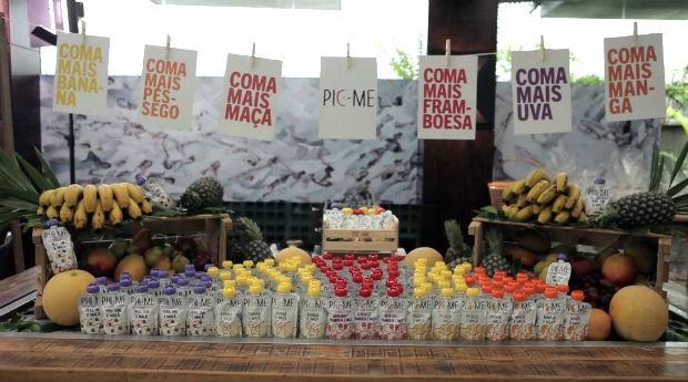 Pic-Me: campanha por maior consumo de frutas de olho nas vendas (Foto: Divulgação/Picme)