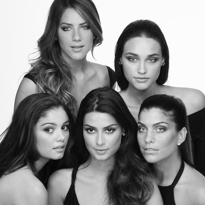 Thaila Ayala, Débora Nascimento, Giovanna Ewbank, Sophie Charlotte e Joana Balaguer (Foto: Reprodução/Instagram)