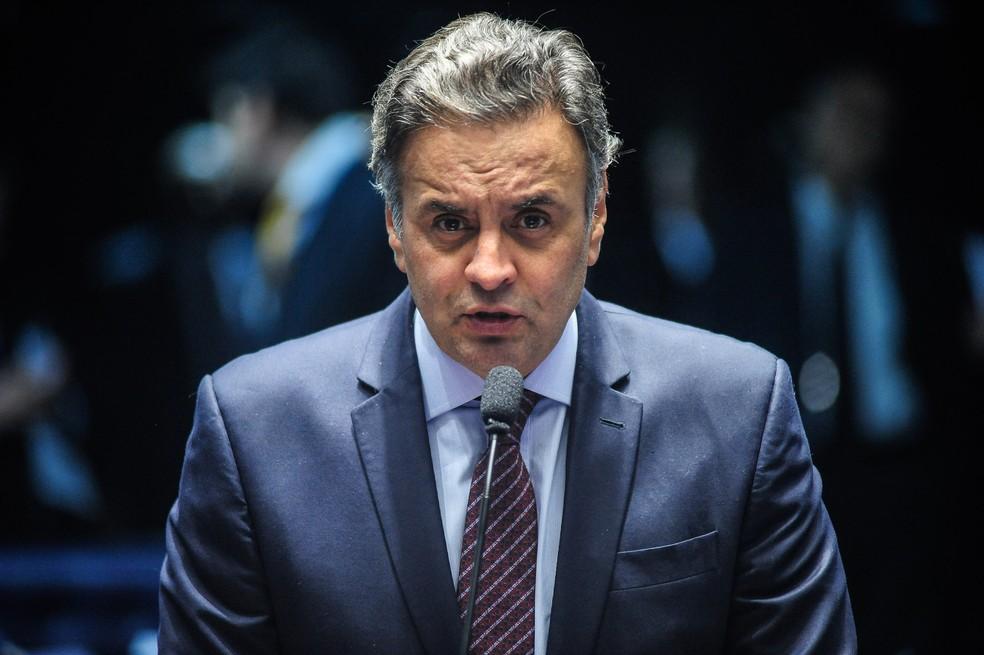 Aécio Neves (PSDB-MG), senador (Foto: Pedro França/Agência Senado)