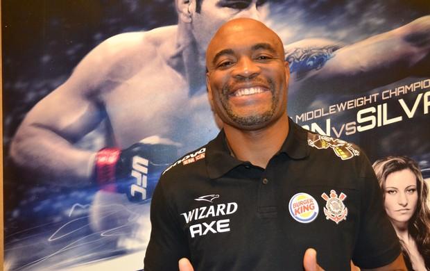 Anderson Silva UFC 168 (Foto: Ivan Raupp)