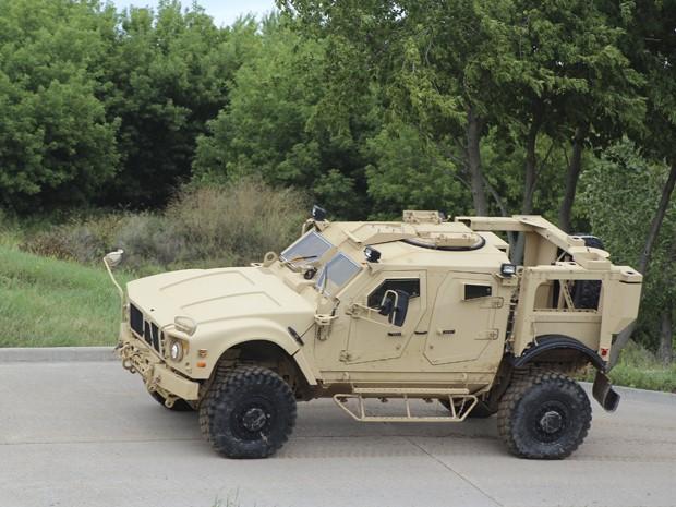 Modelo tem blindagem equivalente a um tanque leve (Foto: Reuters/Lockheed Martin/Handout via Reuters)