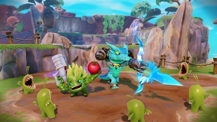 Com dois jogadores, a diversão fica completa (Foto: Divulgação)