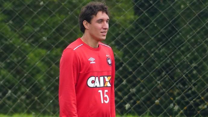 Cléo Atlético-PR (Foto: Monique Silva)