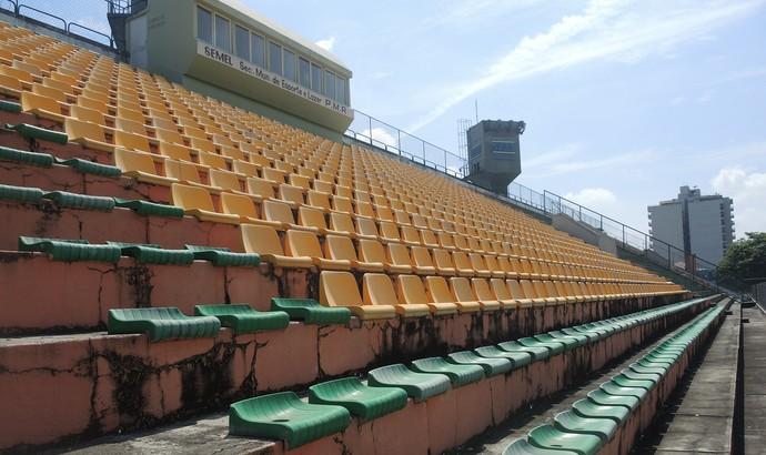 Estádio do Trabalhador (Foto: Jessica Mello/GloboEsporte.com)