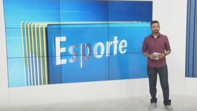 George Gonçalves é apresentador do novo quadro de esportes da Inter TV (Foto: Reprodução/Inter TV)