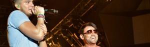 Luan Santana faz show performático e chama Pablo para o palco (Erik Salles/Agência Edgar de Souza)