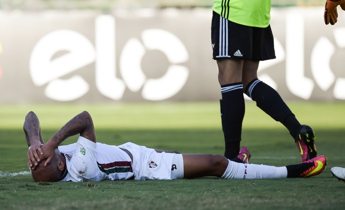 Wellington Silva Fluminense x Coritiba (Foto: CELSO PUPO/FOTOARENA/ESTADÃO CONTEÚDO)