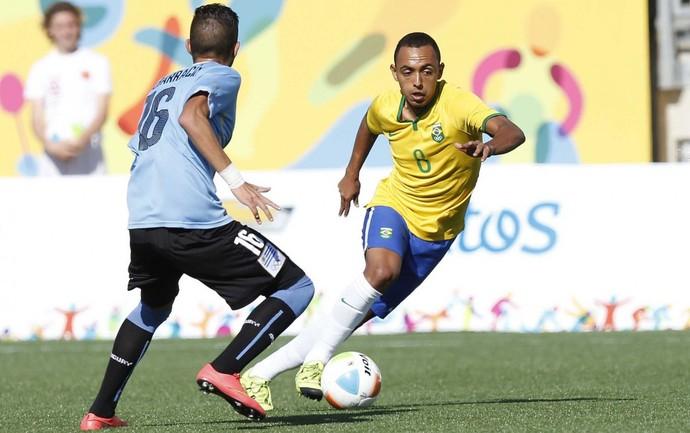 Dodô Brasil Uruguai Pan (Foto: Rafael Ribeiro / CBF)