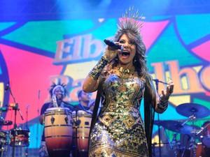 Elba Ramalho (Foto: Diego Moraes / G1)