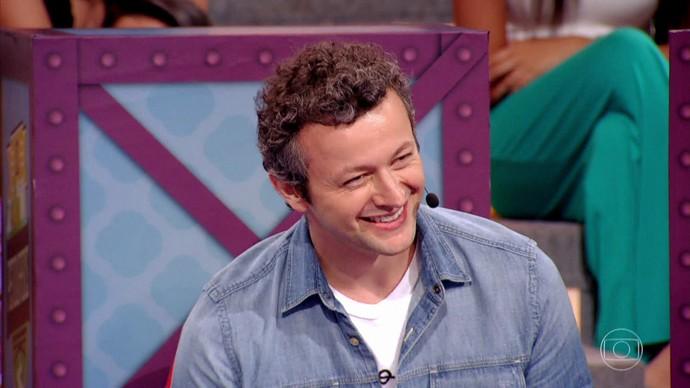 Lucas Lima marcou presença no quadro (Foto: TV Globo)