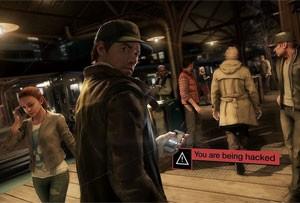 Smartphone de Aiden em 'Watch Dogs' hackeia a cidade de Chicago (Foto: Divulgação/Ubisoft)