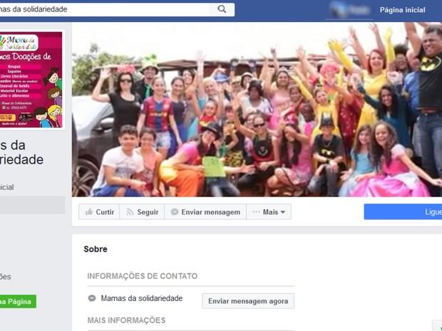 b6ccb96d8 G1 - Grupo Mamas da Solidariedade ajuda famílias carentes na Grande ...