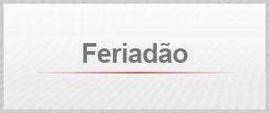 Selo Agenda Feriadão (Foto: Editoria de Arte/G1)