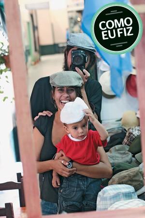 ANA PAULA PAIVA Fotógrafa do jornal Valor Econômico, mãe de João, hoje com 6 anos. A foto ao lado foi feita em Buenos Aires, na Argentina  (Foto: Fernando Martinho)