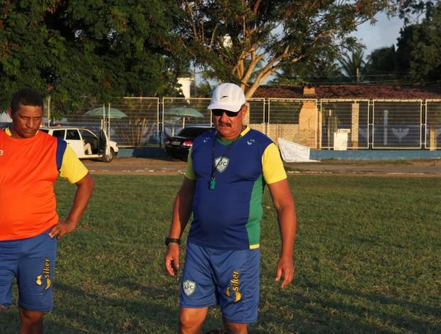 Pedrinho Albuquerque, técnico do Alecrim (Foto: Gabriel Peres/Divulgação)