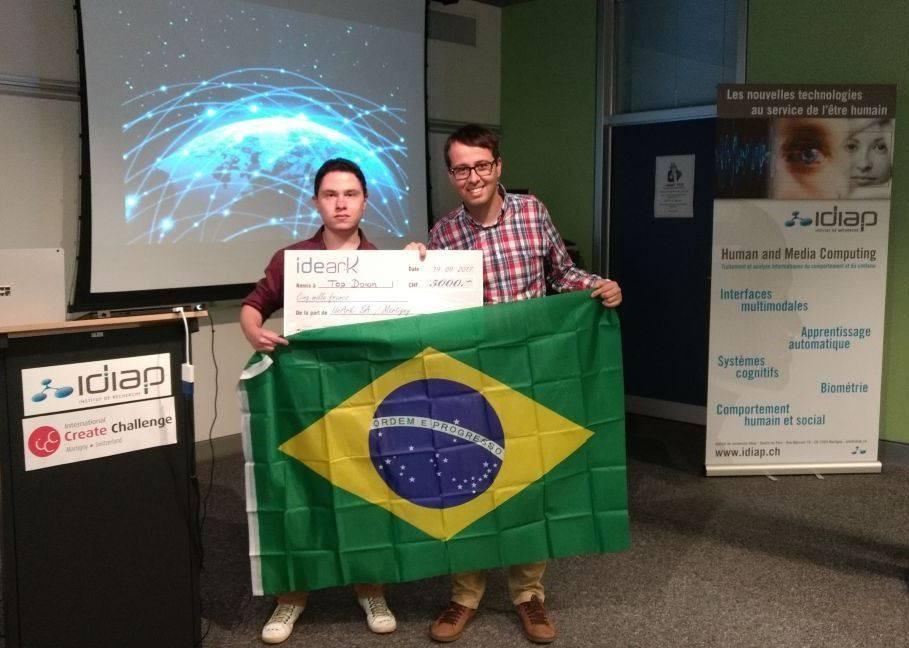 Fábien Oliveira e Renato Rodrigues conquista Olimpíada pela primeira vez para o Brasil (Foto: Reprodução/ Facebook Renato Rodrigues)