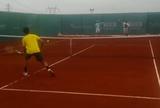 Bellucci treina com Federer de olho na segunda rodada do ATP de Istambul
