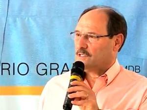 José Ivo Sartori - campanha 21/8 (Foto: Reprodução/RBS TV)
