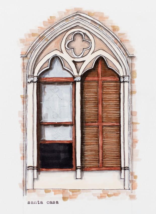 Conheça a arquitetura de São Paulo por meio de ilustrações de janelas da cidade