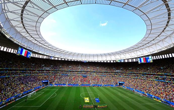 França e Nigéria Mané Garrincha (Foto  Agência AP ) 340fad2f63ff1
